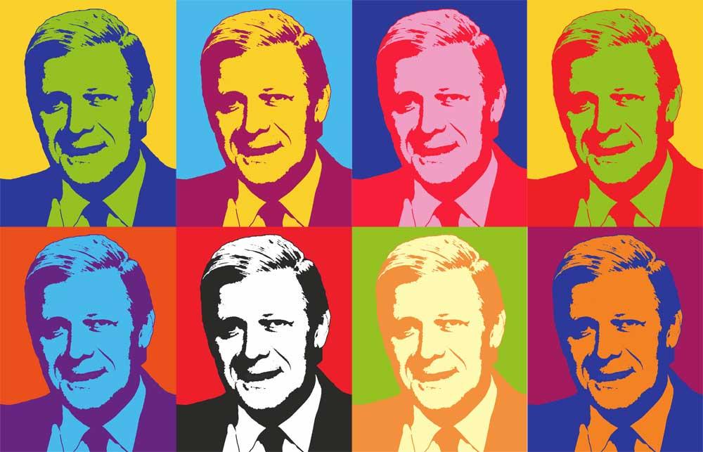 Altbundeskanzler Helmut Schmidt Collage