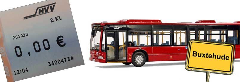 Kostenloser Busverkehr in Buxtehude