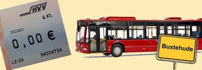 Illustration: kostenloser Busverkehr in Buxtehude